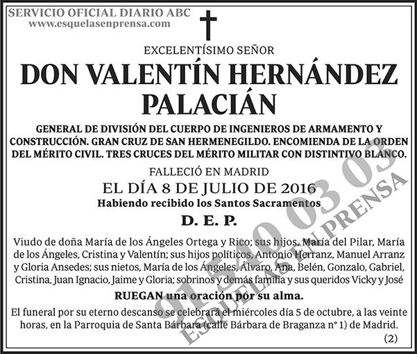 Valentín Hernández Palacián